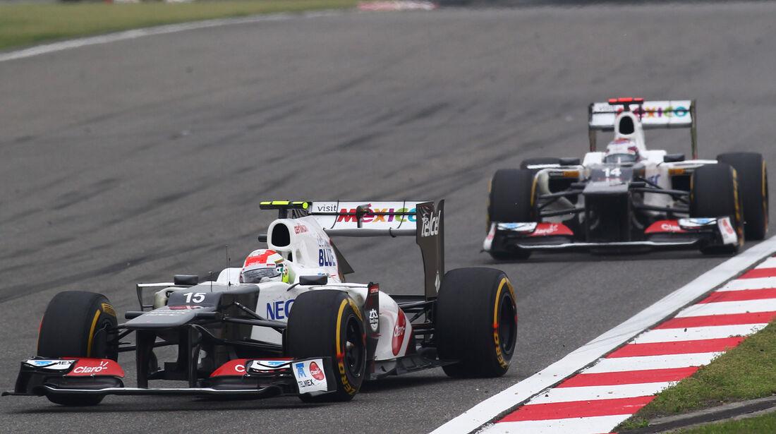 Sauber GP China 2012