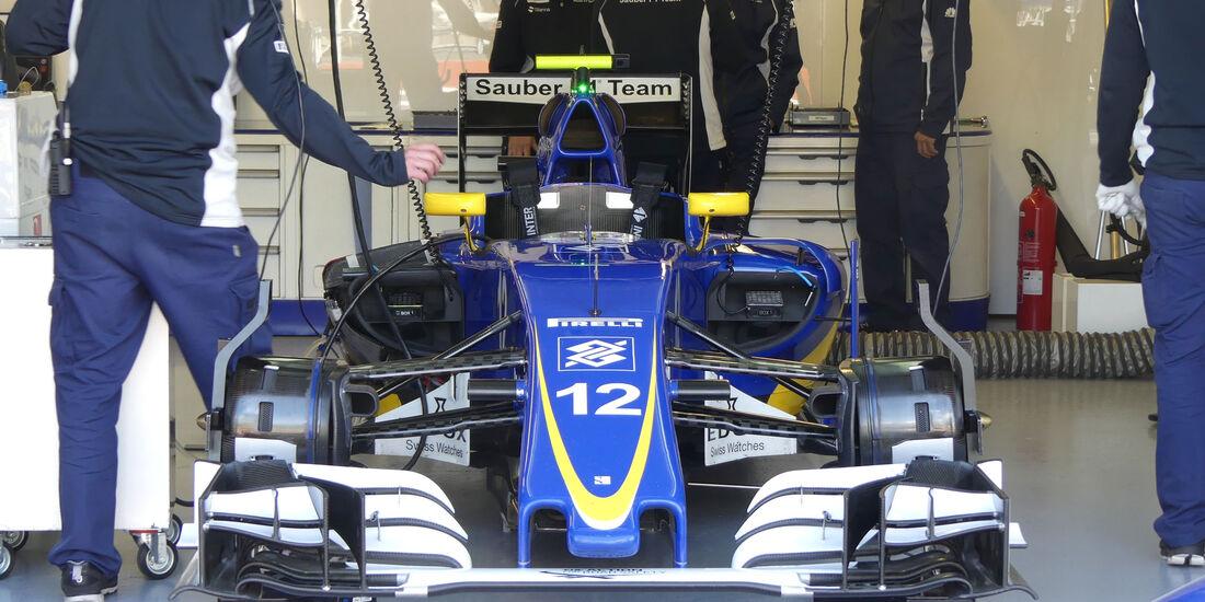 Sauber - GP Kanada - Montreal - Freitag - 10.6.2016
