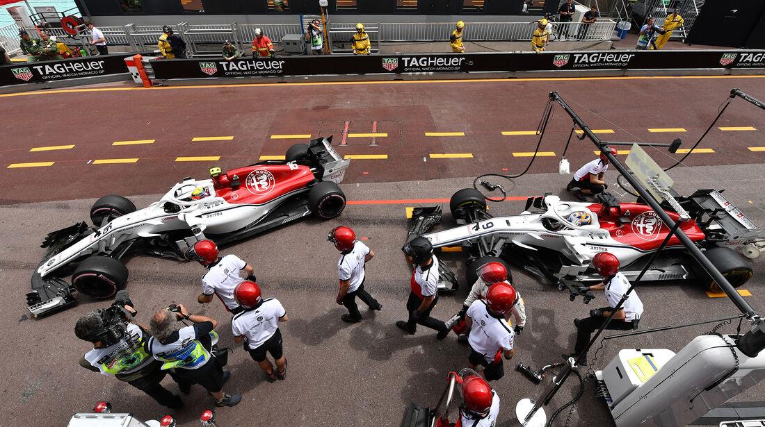 Sauber - GP Monaco 2018