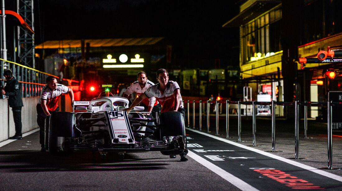 Sauber - GP Singapur 2018