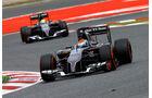 Sauber - GP Spanien 2014