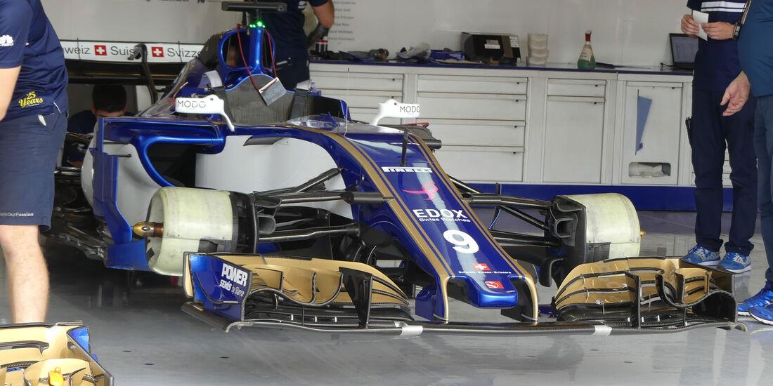 Sauber - GP USA - Austin - Formel 1 - Donnerstag - 19.10.2017
