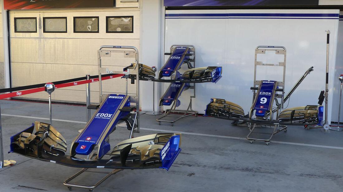 Sauber - GP Ungarn - Budapest - Formel 1 - 28.7.2017