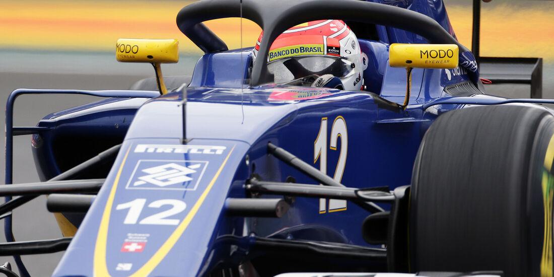 Sauber - Halo-Test - Formel 1 - 2016