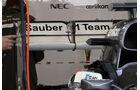 Sauber Heckflügel - Formel 1 - GP England - 28. Juni 2013