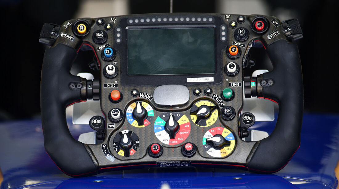Sauber - Lenkrad - Formel 1 - Technik - GP Bahrain 2016