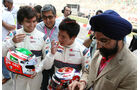 Sauber-Taufe - GP Indien - Training - 28.10.2011