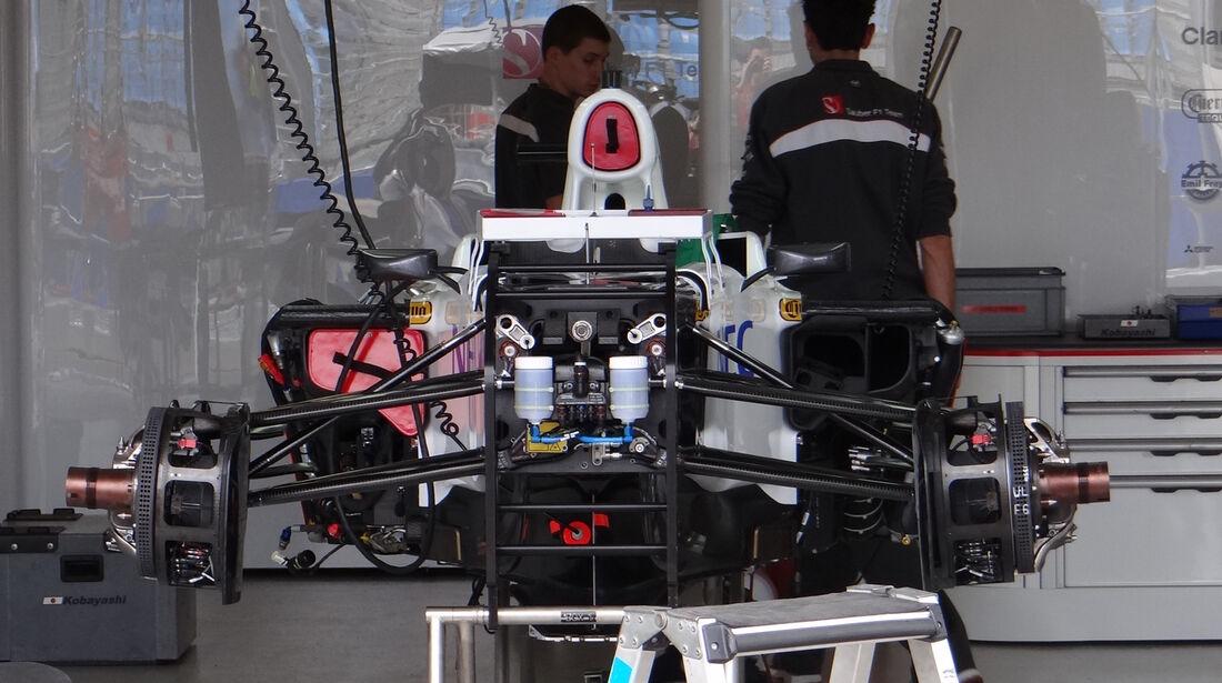 Sauber - Technik - GP Australien - 14. März 2012