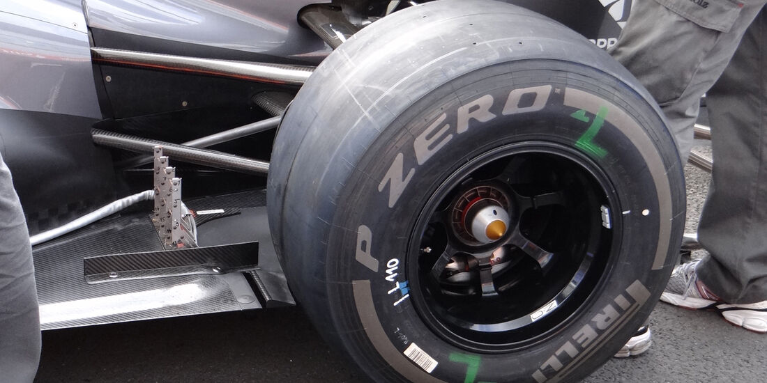 Sauber Technik GP England 2012