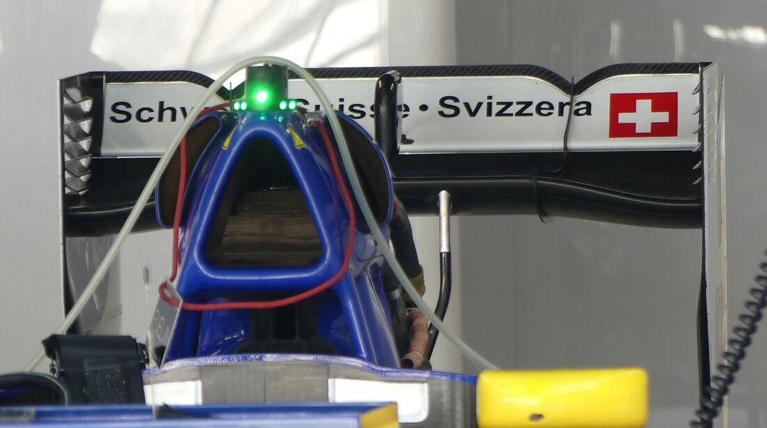Sauber - Technik - GP Italien 2016