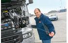 Scania R 730 Topline, Ölmessstab