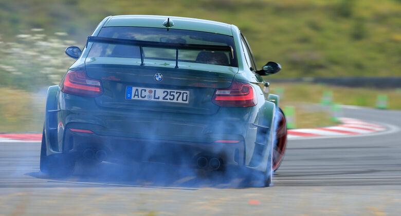 Schnitzer-BMW ACL2, Heckansicht