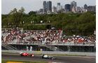 Schumacher Alonso GP Kanada 2011