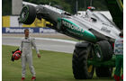 Schumacher GP Deutschland F1 Crashs 2012