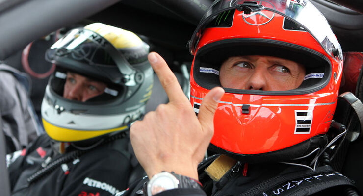 Schumacher Rosberg - Nürburgring - GP Deutschland - 21. Juli 2011