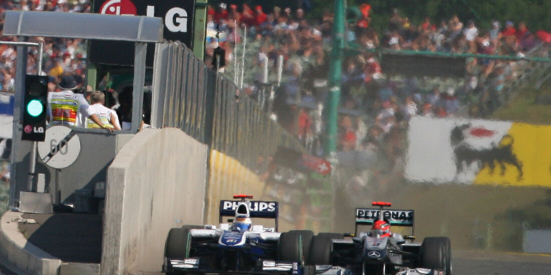Schumacher vs. Barrichello