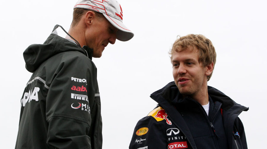 Schumi & Vettel GP Kanada 2011