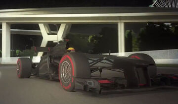 Screenshot Pirelli F1 virtuelle Runde Singapur