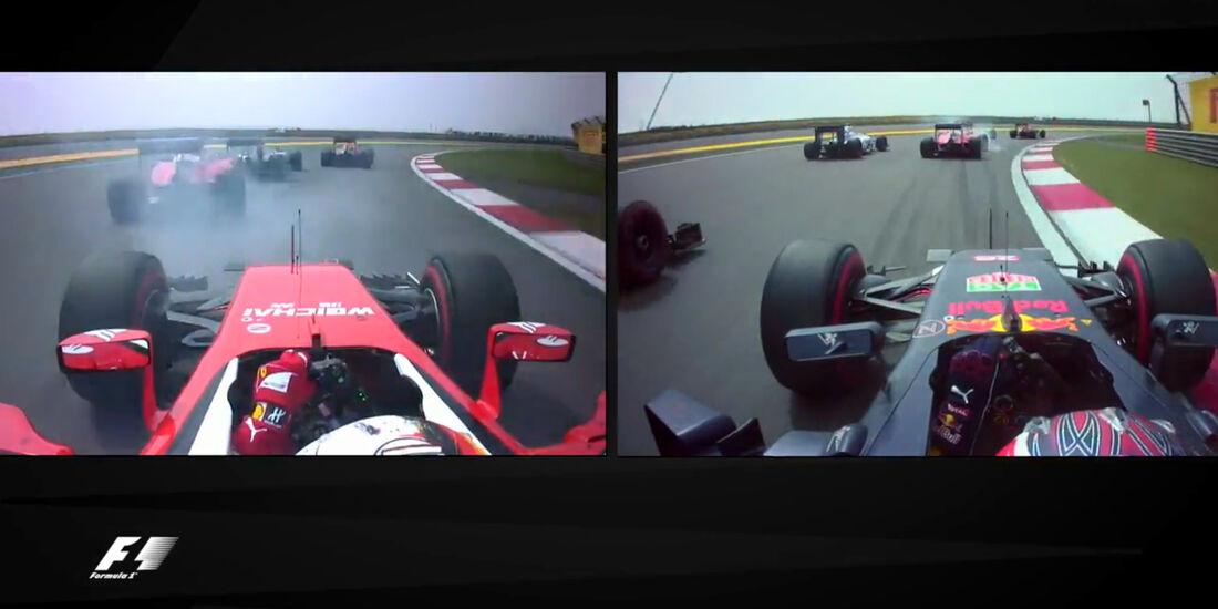 Screenshot - Start GP China 2016 - Kollision Ferrari
