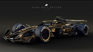 Sean Bull Design - Formel 1 2021 - Lackierung - Lotus 98T