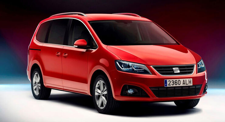 Seat Alhambra Facelift 2015