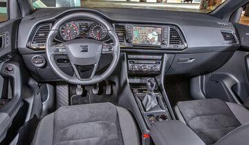 Seat Ateca 1.4 TSI, Cockpit