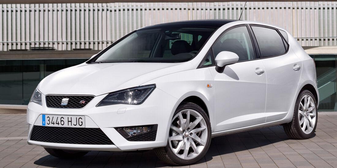 Seat Ibiza FR 1.4 TSI, Frontansicht