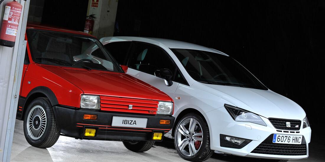 Seat Ibiza, Motorhaube