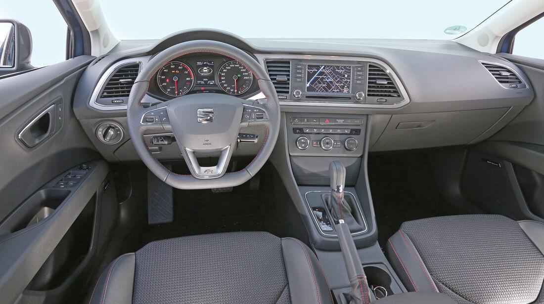 Seat León 1.8 TSI, Cockpit
