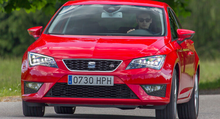 Seat León SC 1.8 TSI FR, Frontansicht