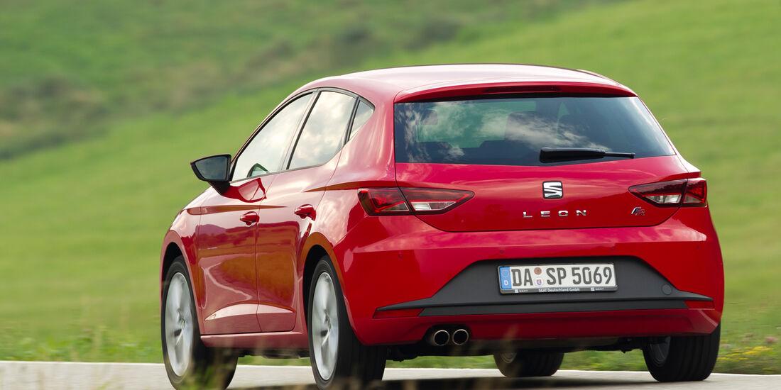 Seat Leon 1.4 TSI, Heckansicht