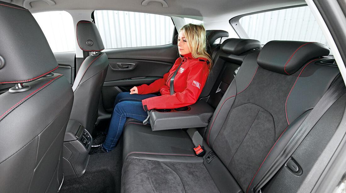 Seat Leon 2.0 TDI, Fondsitz