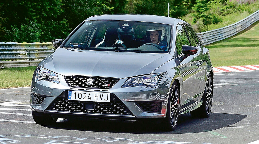 Seat Leon Cupra 280 Performance Pack, Frontansicht