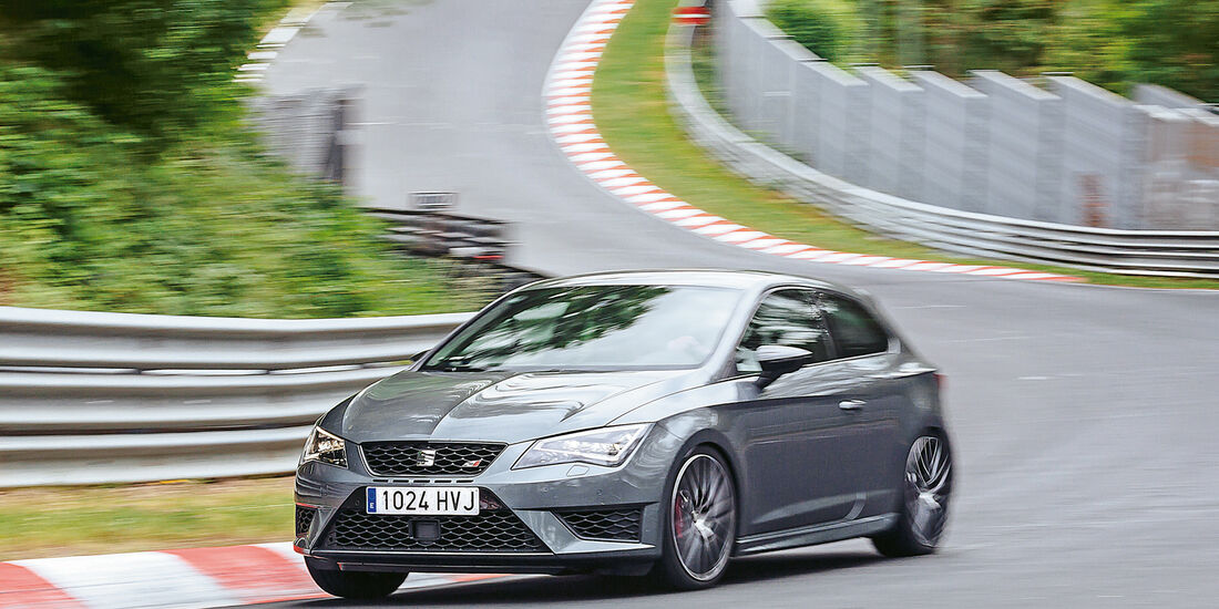 Seat Leon Cupra 280 Performance Pack, Seitenansicht