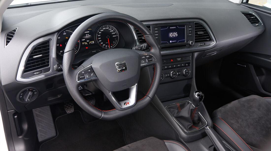 Seat Leon FR 2.0 TDI, Cockpit