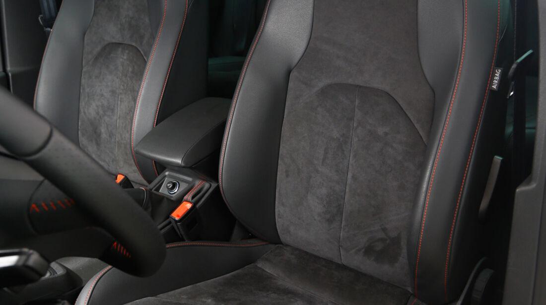 Seat Leon FR 2.0 TDI, Fahrersitz
