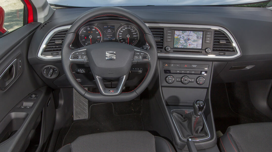Seat Leon SC 1.4 TSI, Cockpit