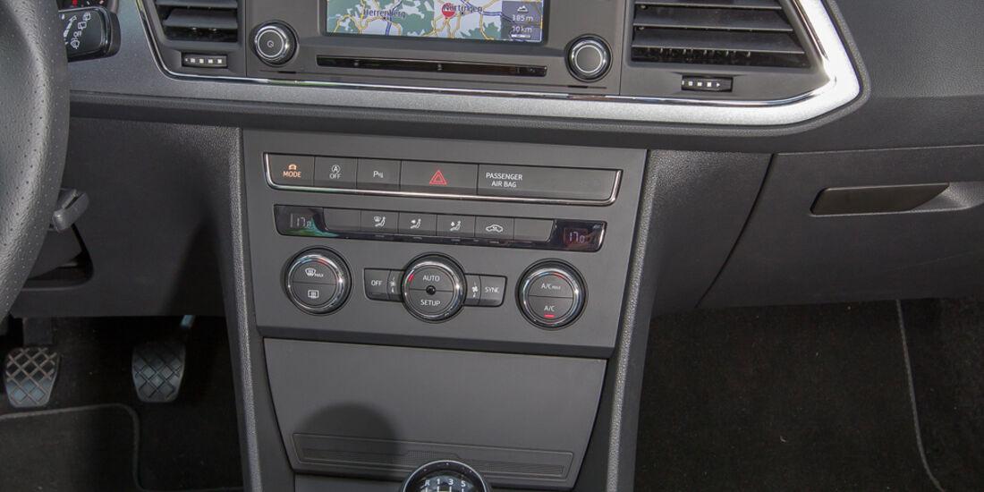 Seat Leon SC 1.4 TSI, Mittelkonsole