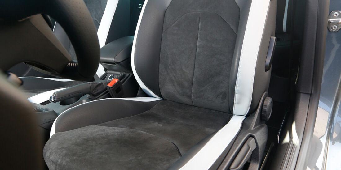 Seat Leon SC Cupra 280, Fahrersitz, Sportsitz