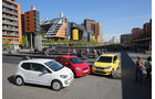 Seat Mii, Skoda Citigo, VW Up, Frontansicht
