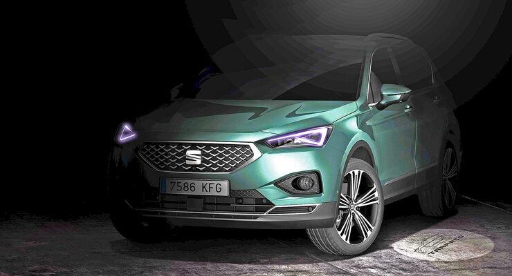 Neues Seat-SUV heißt Tarraco