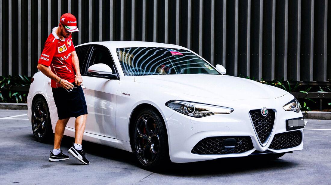 Sebastian Vettel - Alfa Romeo Giulia