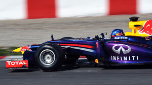 Sebastian Vettel Barcelona Test 2013
