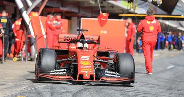 Sebastian Vettel - Ferrari - Barcelona - F1-Test - 18. Februar 2019