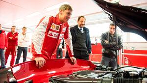 Sebastian Vettel - Ferrari FXX K - Rennstrecke