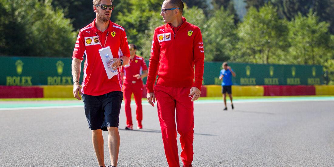 Sebastian Vettel - Ferrari - Formel 1 - GP Belgien - Spa-Francorchamps - 23. August 2018