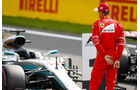 Sebastian Vettel - Ferrari - Formel 1 - GP Belgien - Spa-Francorchamps - 26. August 2017