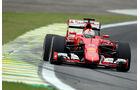 Sebastian Vettel - Ferrari - Formel 1 - GP Brasilien- 13. November 2015