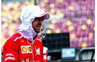 Sebastian Vettel - Ferrari - Formel 1 - GP China - Shanghai - 6.4.2017