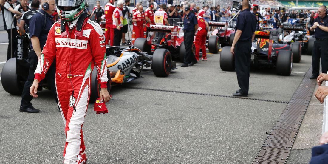 Sebastian Vettel - Ferrari  - Formel 1 - GP Deutschland - 30. Juli 2016